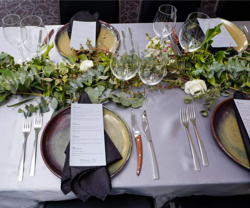 Beautiful table setting at the mantra albury