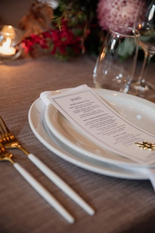 Enhance Stationery table menu